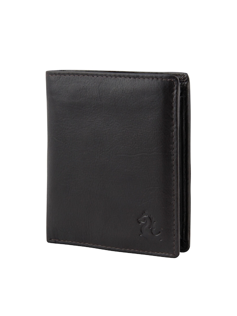 Kara Men Coffee Brown Genuine Leather Wallet