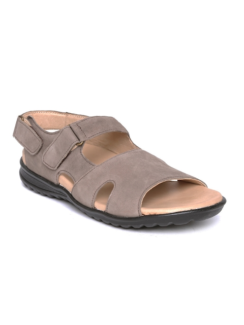 Escaro Men Genuine Leather Sandals