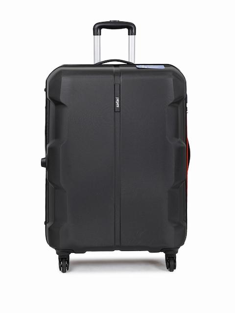 Safari Unisex Black Dynamite Plus Large Trolley Suitcase