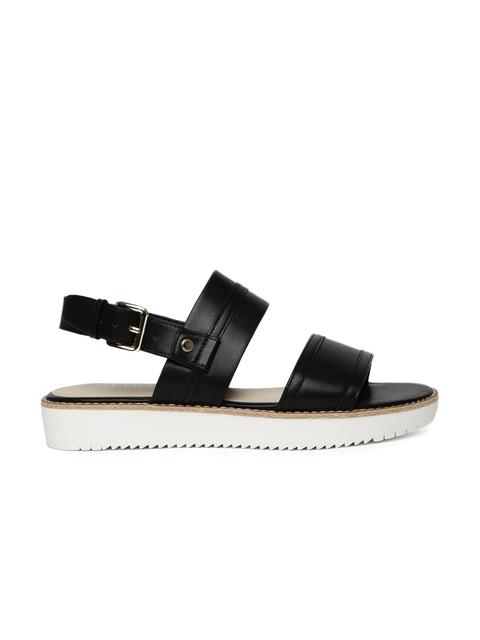 ALDO Women Black Solid Sandals