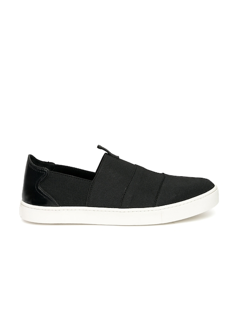 ALDO Women Black Slip-On Sneakers