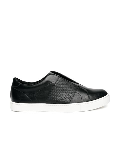 ALDO Women Black Slip-On Sneakers