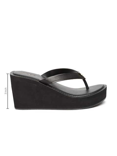 ALDO Women Black Solid Wedges