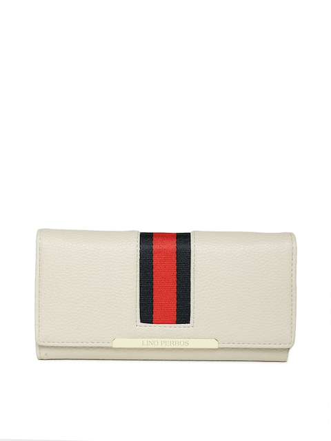 Lisa Haydon for Lino Perros Women Beige Wallet