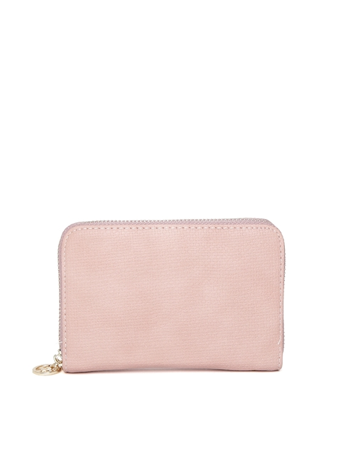 Lisa Haydon for Lino Perros Women Pink Zip-Around Wallet  available at myntra for Rs.492