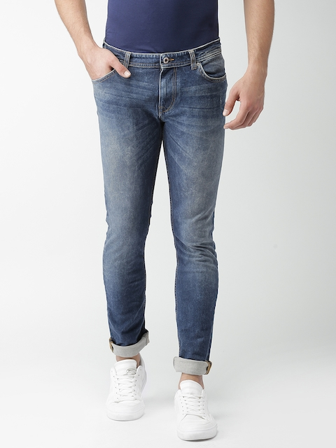 Celio Men Blue Slim Fit Stretchable Jeans  available at myntra for Rs.1599