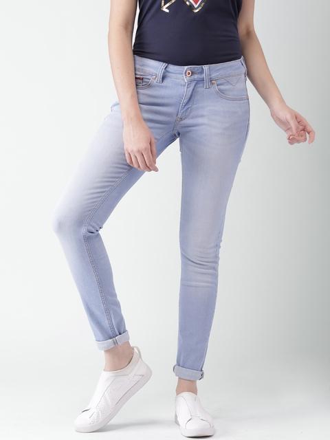 Tommy Hilfiger Women Blue Skinny Fit Stretchable Jeans