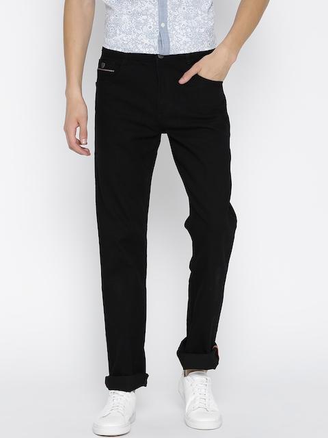 John Players Men Black Stretchable Jeans