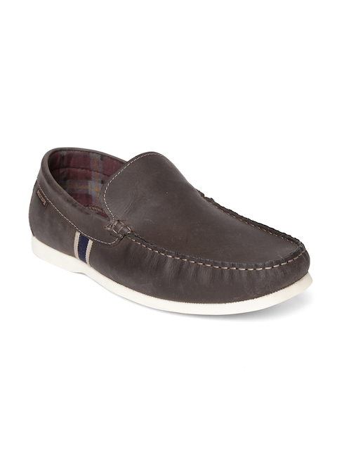 Red Tape Men Coffee Brown Loafers
