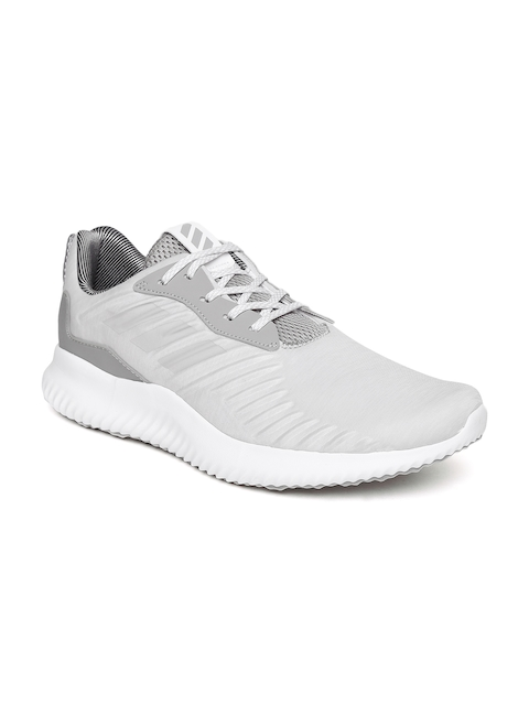 Adidas Men Light Grey Alphabounce RC Running Shoes