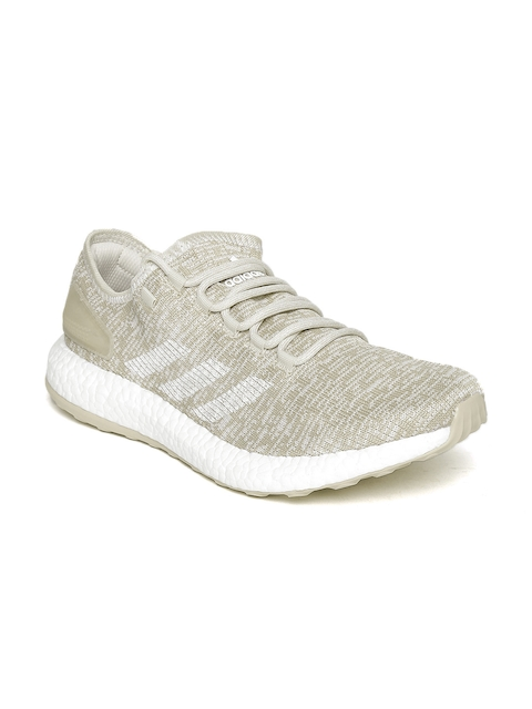 ADIDAS Men Beige Pure Boost Clima Running Shoes