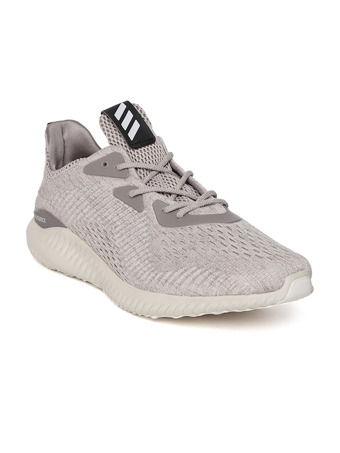 Adidas Men Beige Alphabounce HPC Running Shoes