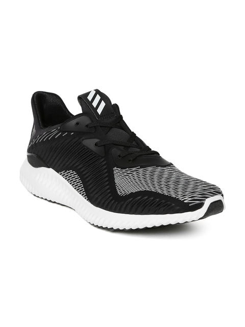 Adidas Men Black Alphabounce HPC Running Shoes