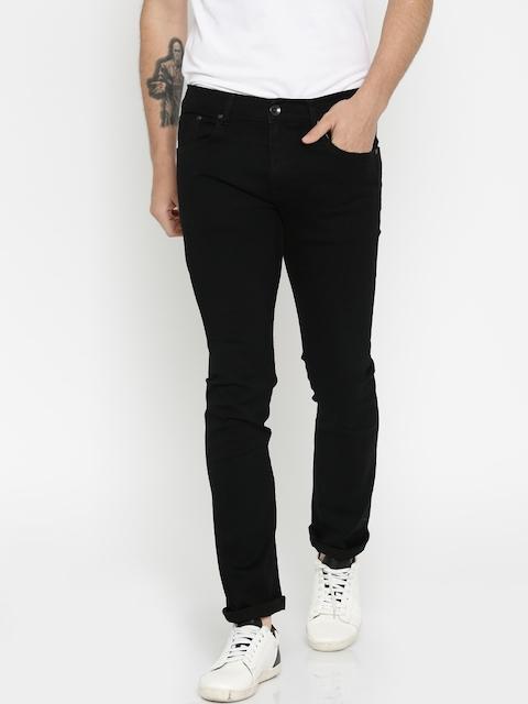 Pepe Jeans Men Black Dawson Slim Fit Stretchable Jeans