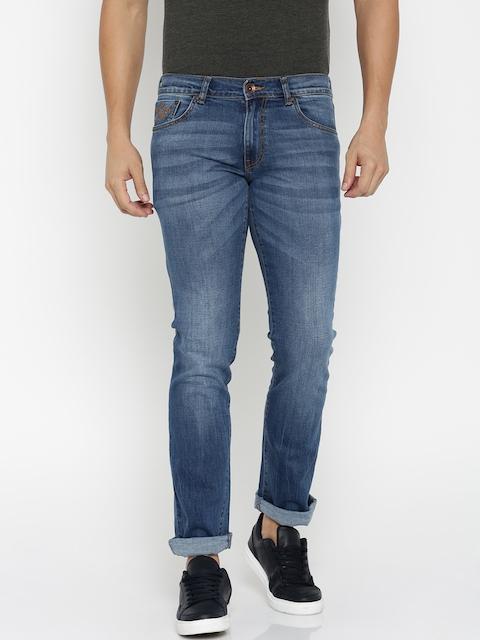 Pepe Jeans Men Blue Dawson Slim Fit Stretchable Jeans