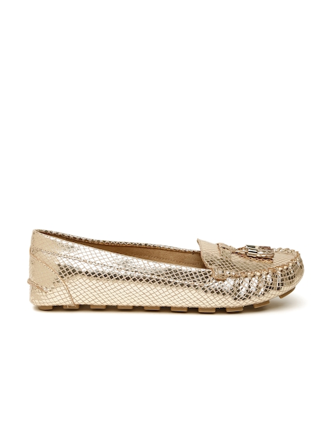 Call It Spring Women Gold-Toned Loafers