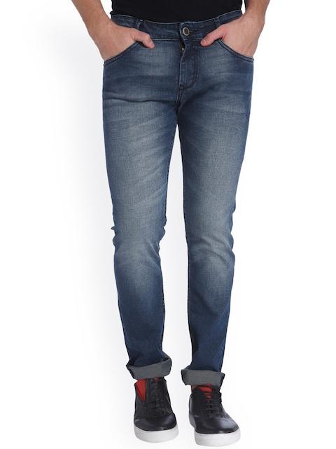 Mufti Men Blue Skinny Fit Jeans