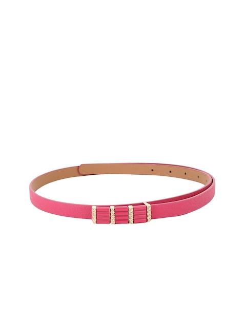 Alvaro Castagnino Women Pink Belt
