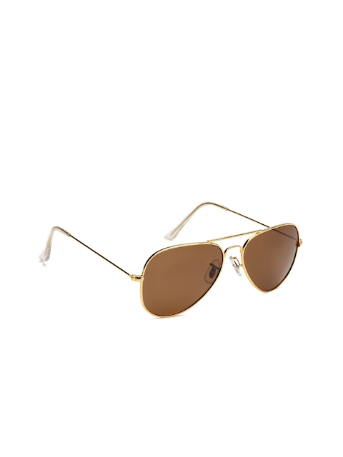 Flying Machine Men Aviator Sunglasses FMAE0122  available at myntra for Rs.779