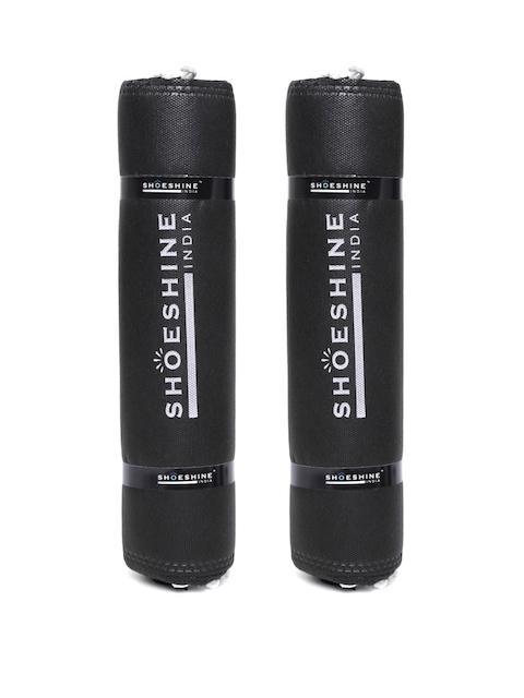 SHOESHINE INDIA Unisex Set of 24 Black Shoe Bags