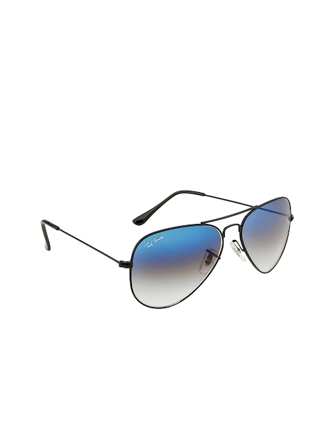 Ted Smith Unisex Gradient Aviator Sunglasses TS3025