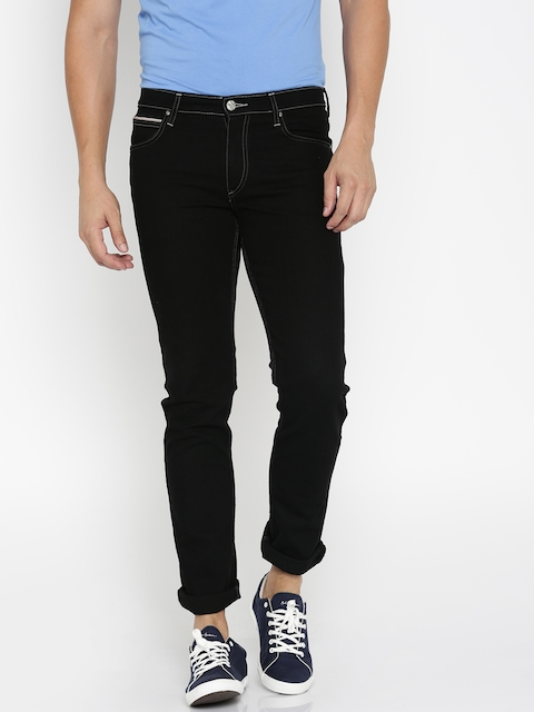 Lee Men Black Bruce Fit Jeans