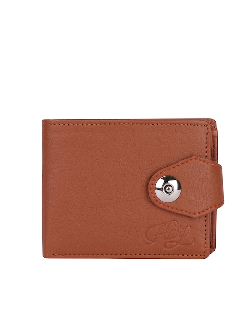 Harp Men Brown Wallet