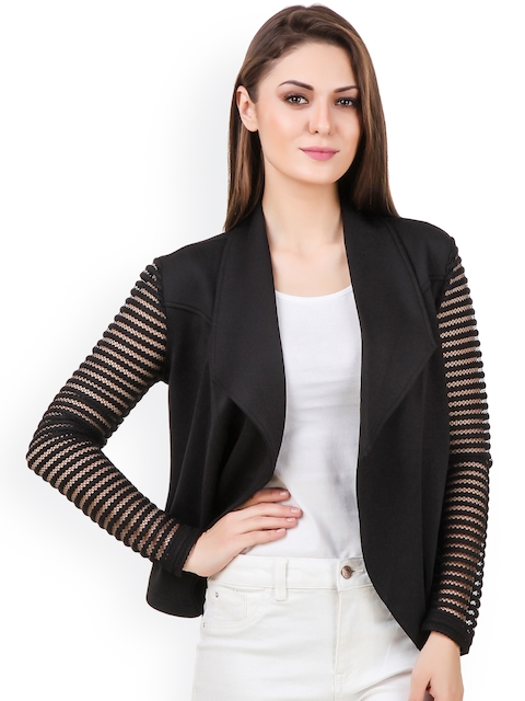 Texco Black Lightweight Front Open Jacket