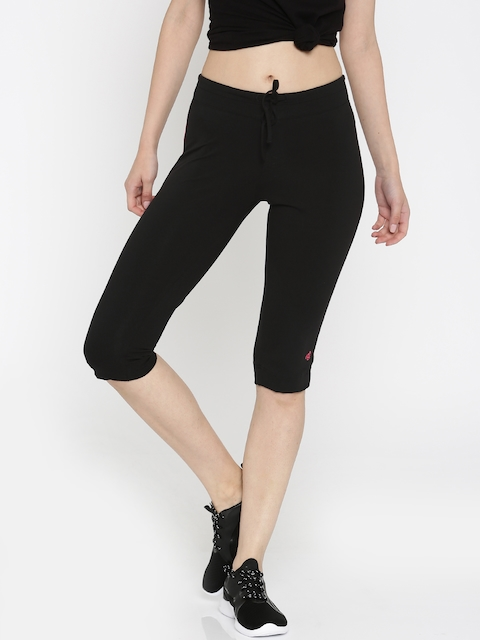 Jockey Black Active Capris
