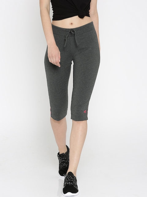Jockey Charcoal Grey Active Capris