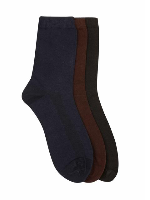 Calzini Men Pack of 3 Above Ankle-Length Socks