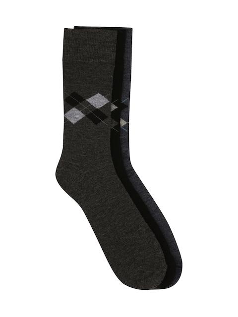 Calzini Men Set of 3 Above Ankle-Length Socks
