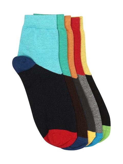 Calzini Men Set of 5 Ankle-Length Socks