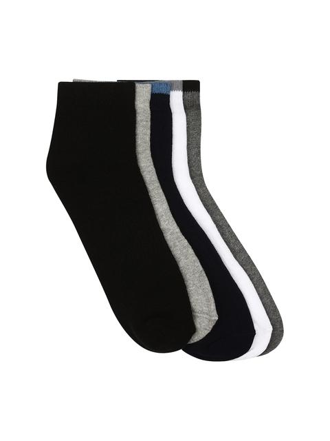 Calzini Men Pack of 5 Ankle-Length Socks