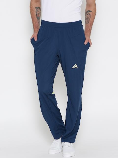 Adidas Teal Blue Panelled Track Pants