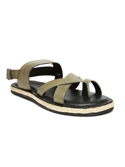 U.S. Polo Assn. Men Taupe Sandals