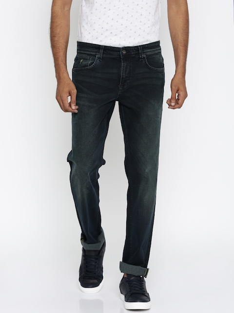 Indian Terrain Men Blue Brooklyn Fit Stretchable Jeans