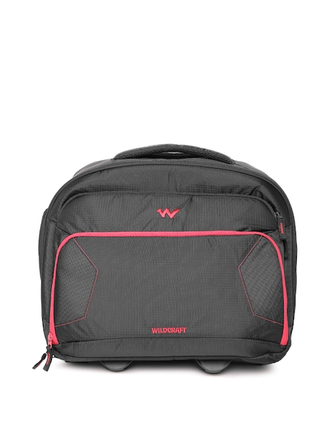 Wildcraft Unisex Black Trolley Bag
