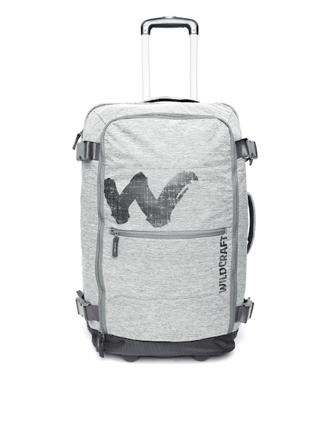 Wildcraft Unisex Grey Voyager Broadcase 24 Trolley Bag