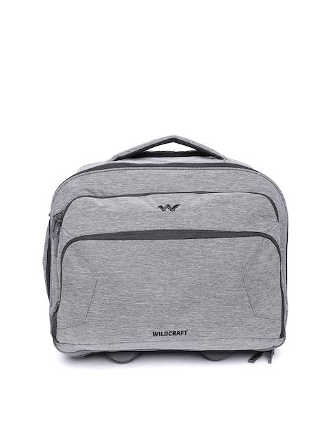 Wildcraft Unisex Grey Voyager Overnighter Trolley Bag
