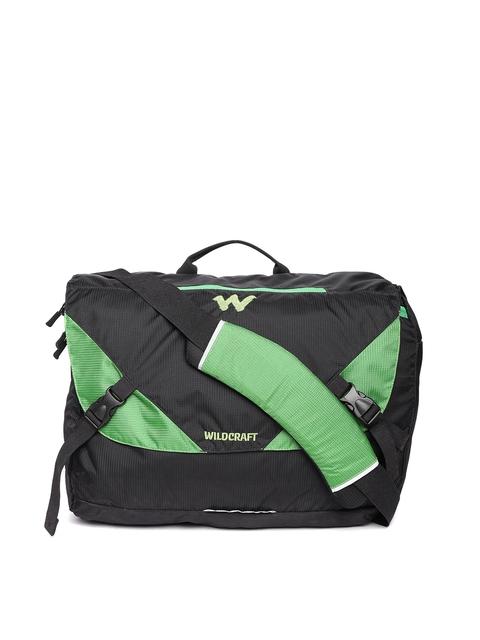 Wildcraft Unisex Black Zavan Messenger Bag