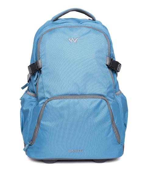 Wildcraft Unisex Blue Voyager 20 Trolley Backpack