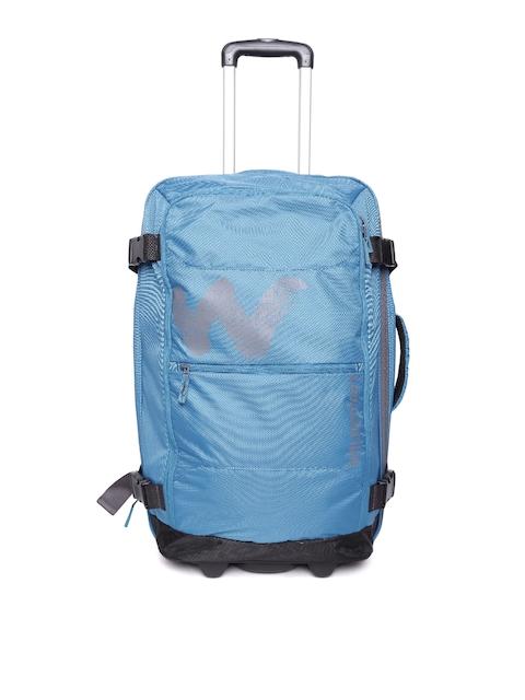 Wildcraft Unisex Blue Voyager Broadcase24 Trolley Bag