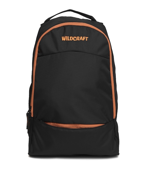 Wildcraft Unisex Black Solid Leap Backpack