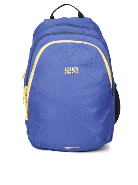 Wildcraft Unisex Blue FK 3 Solid Backpack