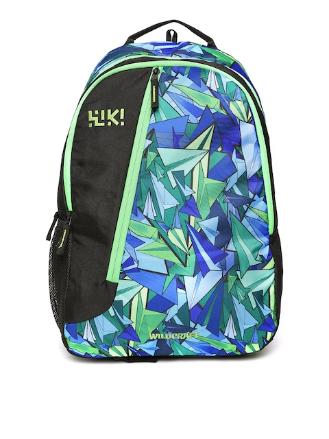 50%off Wildcraft Unisex Blue   Black Crate RC Graphic Print Backpack ccfcc4ea0222f
