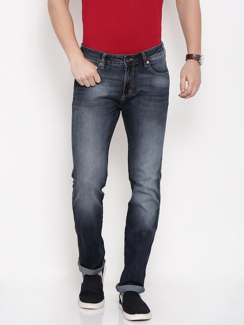 Wrangler Men Blue Skanders Fit Stretchable Jeans