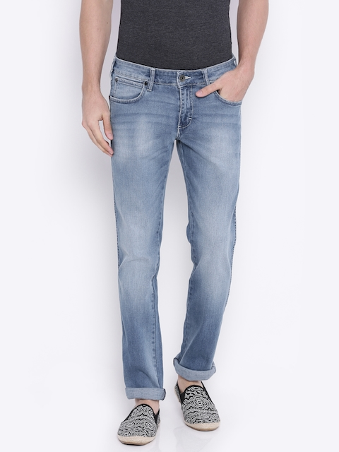Wrangler Men Blue Slim Fit Stretchable Jeans  available at myntra for Rs.1198