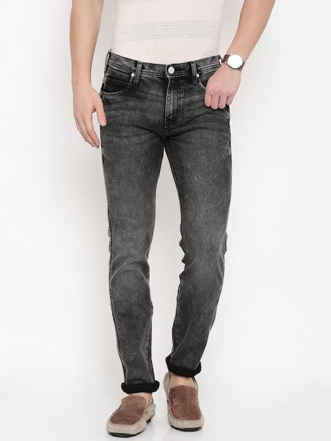 Wrangler Black Stretchable Jeans