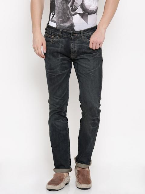 Wrangler Men Blue Slim Fit Jeans